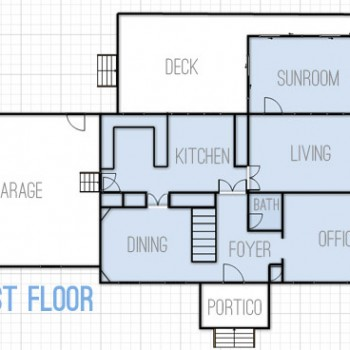 Drawing Up Floor Plans & Dreaming About Changes