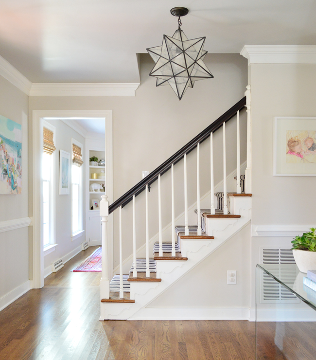 House Tour 2016 Foyer Stairs Square
