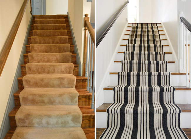 How To Install Your Own Stair Runner Graphic Update For Anyone Asking The Rug Info Here S An Affiliate Link Exact One We Used