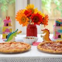 Clara's Dragon Themed Third Birthday Party