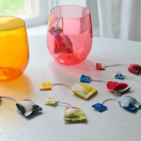 Making Fabric Tea Bags For Pretend Play