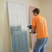 Priming And Painting Our Trim And Doors With A Paint Sprayer