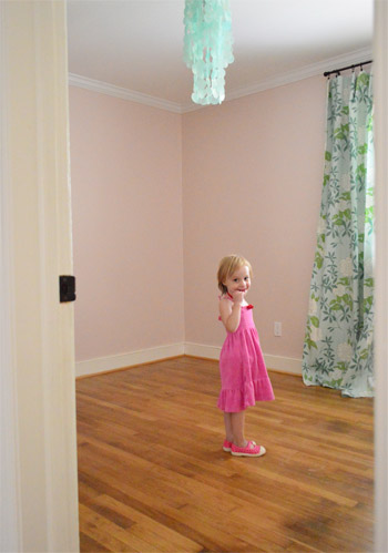Saying Goodbye To Clara's Room