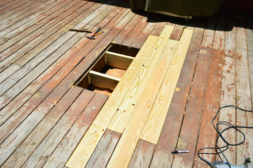 How To Patch Or Repair A Hole In Your Deck