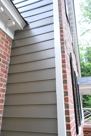 Picking A New Siding Color & Updating Our Exterior Trim