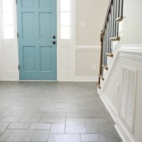 Foyer Freshness: A Soft Neutral Paint Color