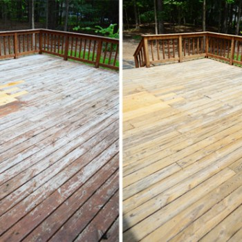 How To Strip & Clean A Deck For Stain
