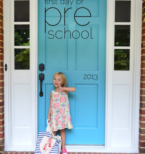First Day of School, 2013