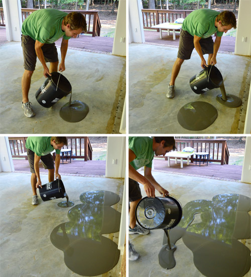 Leveling and Dry Fitting Tile In An Outdoor Area | Young