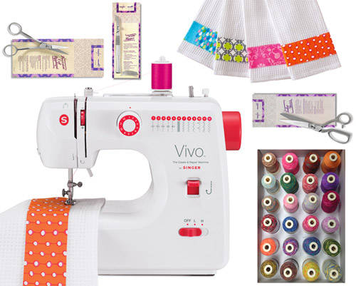 Fab Freebie: On Your Mark, Get Set, Sew!