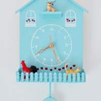 Weekly Crafty: Making A Playful Kid Clock
