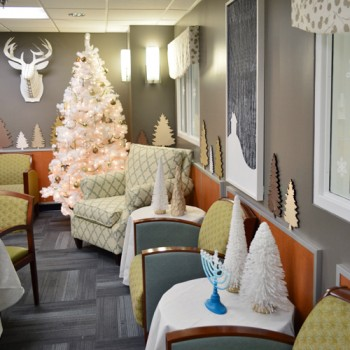 Our Holiday Makeover At The Children's Hospital
