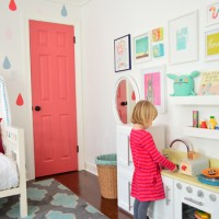 Adding A Colorful & Functional Kids Play Area
