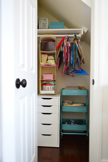 Organizing Our Cluttered Craft Closet