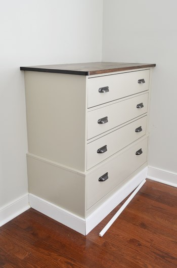 Turning Store Bought Dressers Into Bedroom Built-Ins