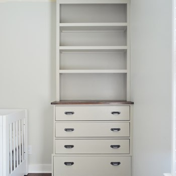 Installing Bedroom Built-ins