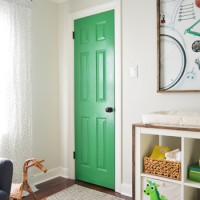 A Colorful Door & More Nursery Art