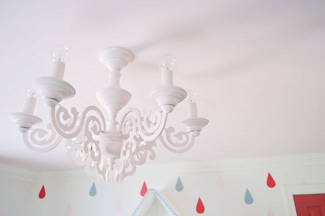 Updating An Old Dining Room Chandelier