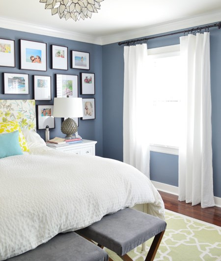 Adding (& Hemming!) Breezy Bedroom Curtains