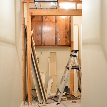 Demoing & Reframing The Laundry Room