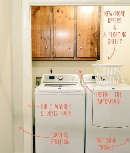 """Our Laundry """"Room"""" Redo Is Officially On"""