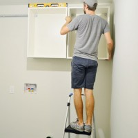 How To Hang Ikea Cabinets