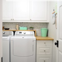 Woot! Our Big Laundry Room Renovation Is Done!