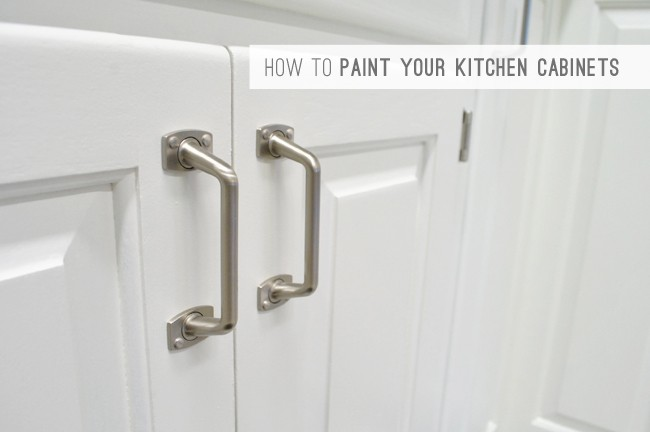 2 How To Paint Your Kitchen Cabinets