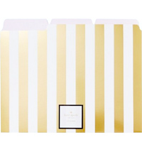 Gold Stripe Folders
