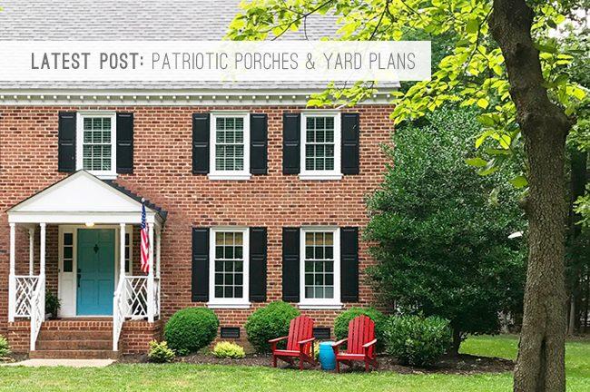 9 Latest Post: Patriotic Porches