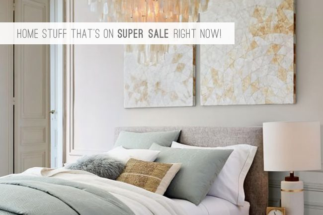 9 Home Stuff That's On Super Sale Right Now