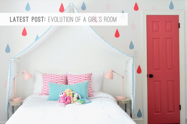 9 Latest Post: Evolution of a Girl's Room
