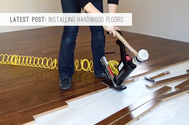 9 Latest Post: Installing Hardwood Floors