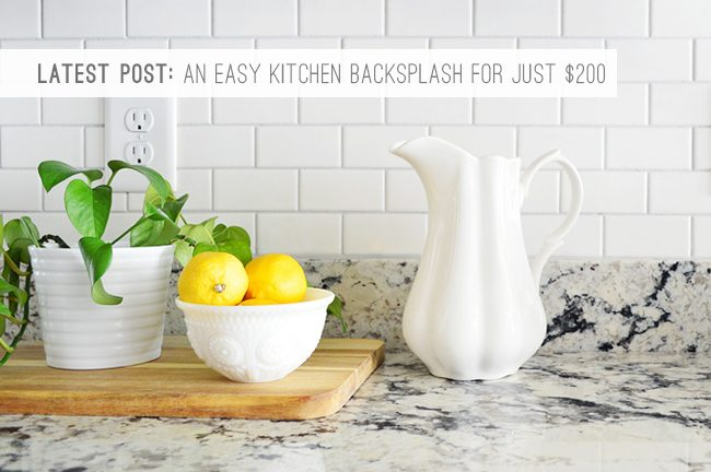9 Latest Post: Backsplash