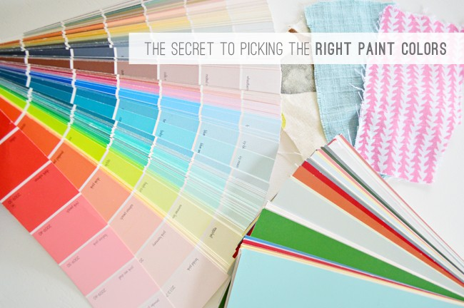 2 The Secret To Picking The Right Paint Colors