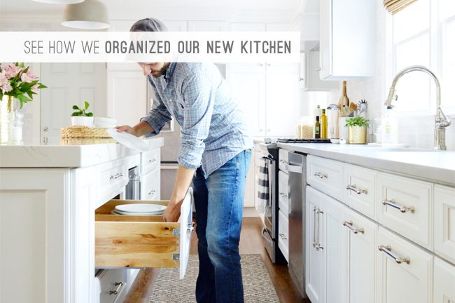 9 Latest Post: See How We Organized Our New Kitchen