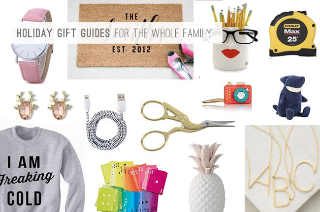 9 Holiday Gift Guides For The Whole Family