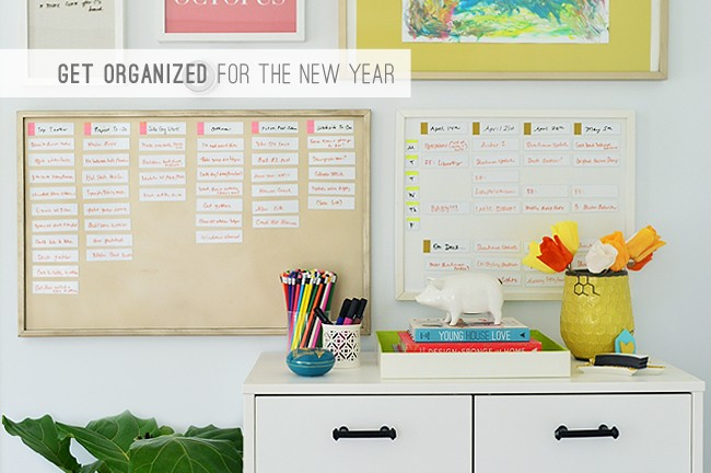 7 Get Organized For The New Year