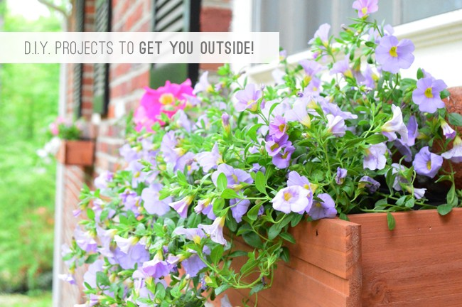 4 DIY Projects To Get You Outside