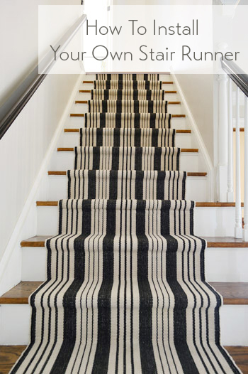 Charming How To Install Your Own Stair Runner Graphic