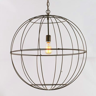 Wire Globe Lantern (7 colors!)