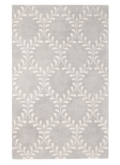 Such a cute tone on tone rug that's neutral enough to layer with anything, but interesting enough to add a little somethin' somethin'.