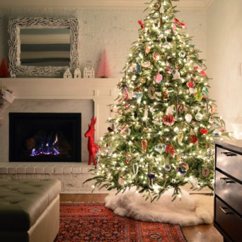 Our 2015 Christmas Tree & Holiday Decor