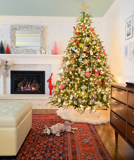 Decorate Christmas Tree Without Ornaments fun, simple, & inexpensive holiday decorating ideas | young house love