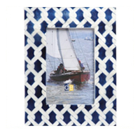 Nautical Capiz Frame