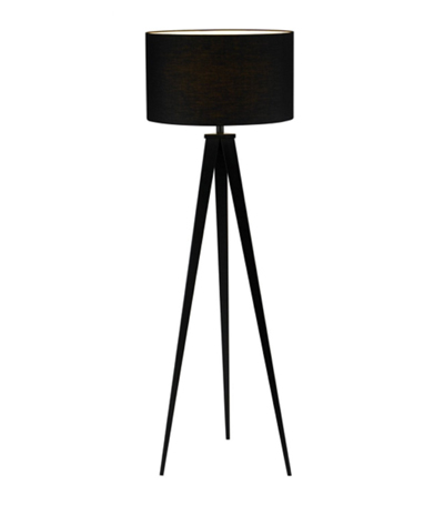 A nice hit of black can work wonders for a room. And this tall, dark floor lamp is pretty dang handsome.