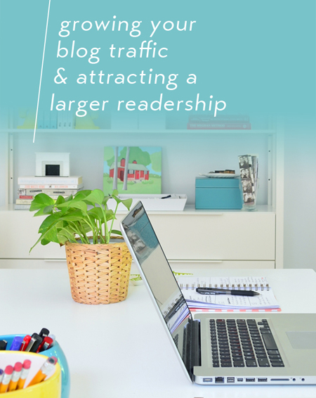 how to get blog traffic and attract a larger readership