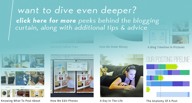 navigations banner for deeper dive into blogging content archives with additional tips and advice