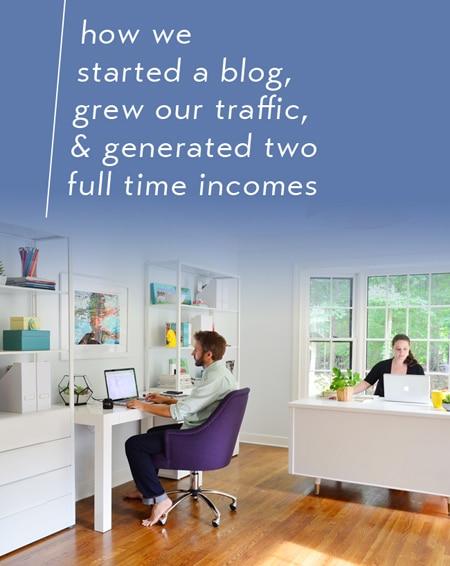 blogging for business - start a blog grow traffic make money