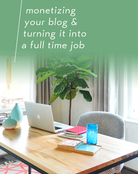 Make money bogging by Monetizing-Your-Blog-Turning-It-Into-A-Full-Time-Job